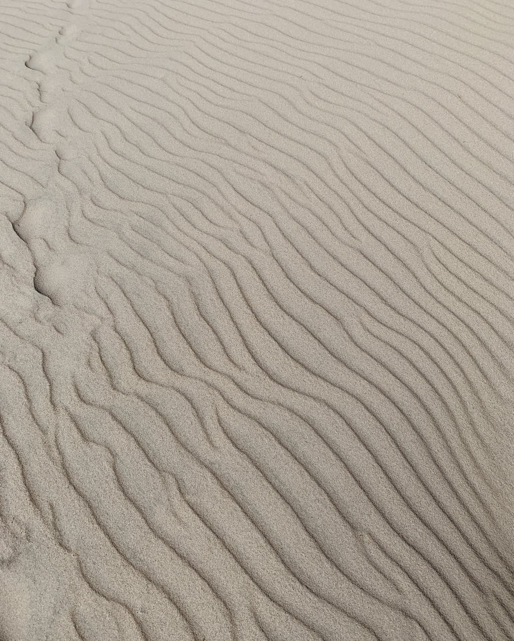 sand formation in the desert